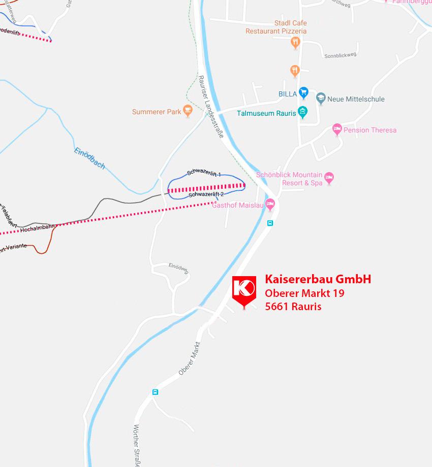 Kaisererbau-Karte
